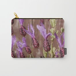 French Lavender (Lavandula stoechas) Carry-All Pouch