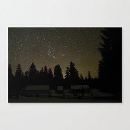 Winter in Oregon Canvas Print