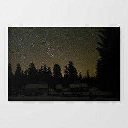 Winter in Oregon Canvas Print