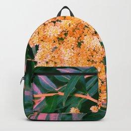 Green and Gold Sideways Sumac Backpack