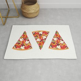 PIZZA POWER - VEGO VERSION Rug
