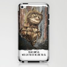 All good things are wild and free iPhone & iPod Skin