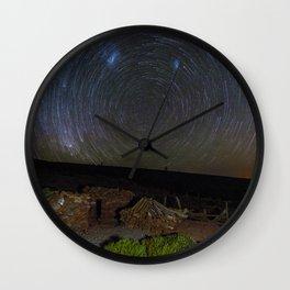 Circles of Stars Wall Clock