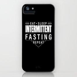Intermittent Fasting iPhone Case