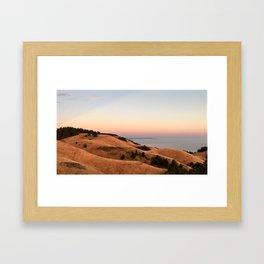 Untitled Sunset #1 Framed Art Print