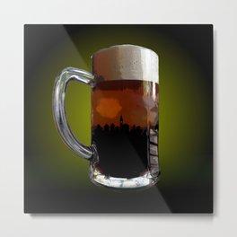 Big Beer Metal Print