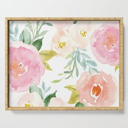 Floral 02 Serving Tray