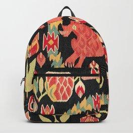 Agedyna Swedish Skåne Province Carriage Cushion Print Backpack