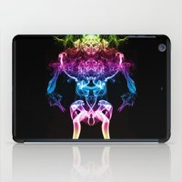 returns iPad Cases featuring The Smoke Warrior Returns by Steve Purnell
