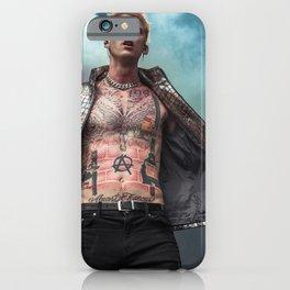 Machine Gun Kelly - M G K - Rap - Hip Hop - Trending - Art - Society6 - Youth - Cool - Rock 68 iPhone Case