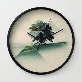 Treeangle Wall Clock