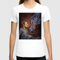 cyrilliart T-shirts featuring Dragon Series: Liam by Cyrilliart