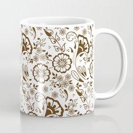 Mehndi or Henna Florals Coffee Mug