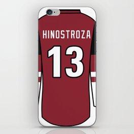 Vinnie Hinostroza Jersey iPhone Skin