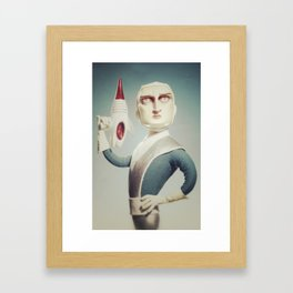 Ready for the adventure Framed Art Print