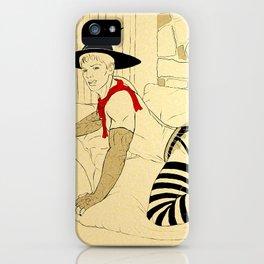 Ye Olde Striptease Illustrated: Merlin iPhone Case