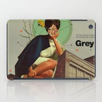 grey iPad Cases featuring Grey by Frank Moth