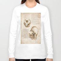 homer Long Sleeve T-shirts featuring Leonardo's Homer by SilentKW