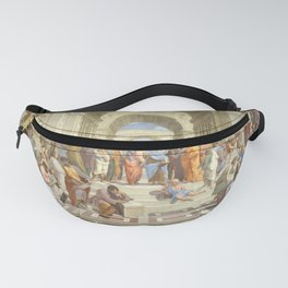 Raphael - The School of Athens Fanny Pack