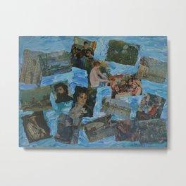 The Impressionists No. 3 COL150215c Metal Print