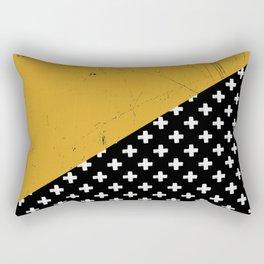 Swiss crosses (grunge) Rectangular Pillow