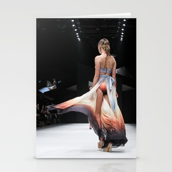 Back Down the Runway Stationery Cards