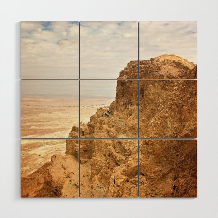 Masada Wood Wall Art
