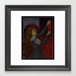 Klingon Blood Wine Framed Art Print