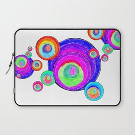 Colorful Secret Geometry | painting by Elisavet #society6 Laptop Sleeve
