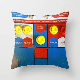 Well Played, Asteroids. Throw Pillow