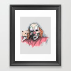 Number Six Framed Art Print