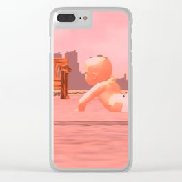 Childhood of Humankind:Child Clear iPhone Case