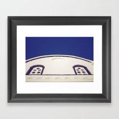 Santorini Churches IV Framed Art Print