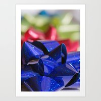 bows Art Prints featuring Bows by KC Photography