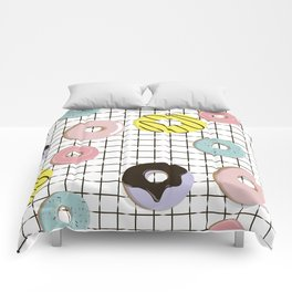 Sweet donuts Comforters