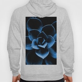 Dark Blue Succulent Plant #decor #society6 #homedecor Hoody