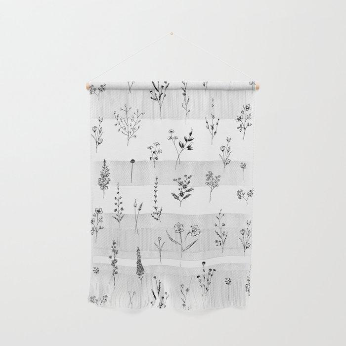 Wildflowers Wall Hanging