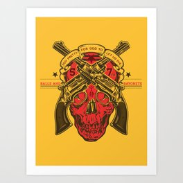 Firefly 57th Brigade Mal's Independents Brigade Art Print