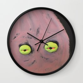 Tired Thoughts Wall Clock