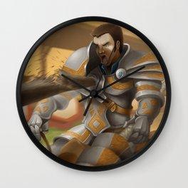 Jousting Wall Clock