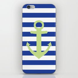 Anchor no.1 iPhone Skin