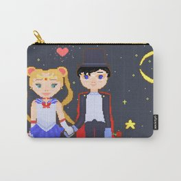 Pixelated Sailor Moon Carry-All Pouch