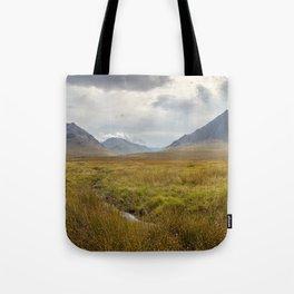 Glencoe, Scottish Highlands Tote Bag
