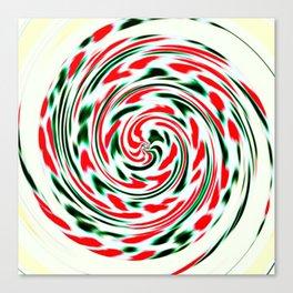 Spearmint Lollipop Canvas Print