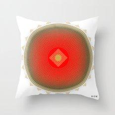 Fleuron Composition No. 140 Throw Pillow