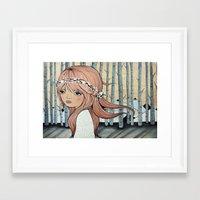 wonderland Framed Art Prints featuring WONDERLAND by Kelli Murray