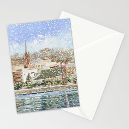 Christmas in Petoskey  Stationery Cards