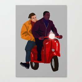Team Work Canvas Print