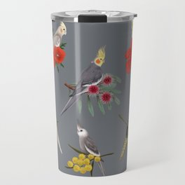 Cockatiels Galore Travel Mug