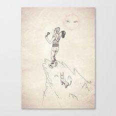 Tarot: 0 - The Fool Canvas Print
